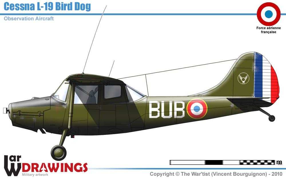 FSX - SibWings - CESSNA O-1 L-19 BIRD DOG  for computer