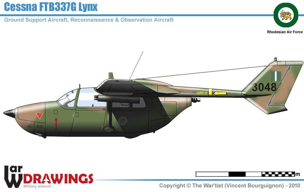 Cessna FTB337G Lynx