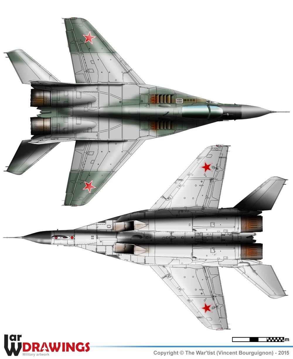 MiG-29 (9-13) Fulcrum C on