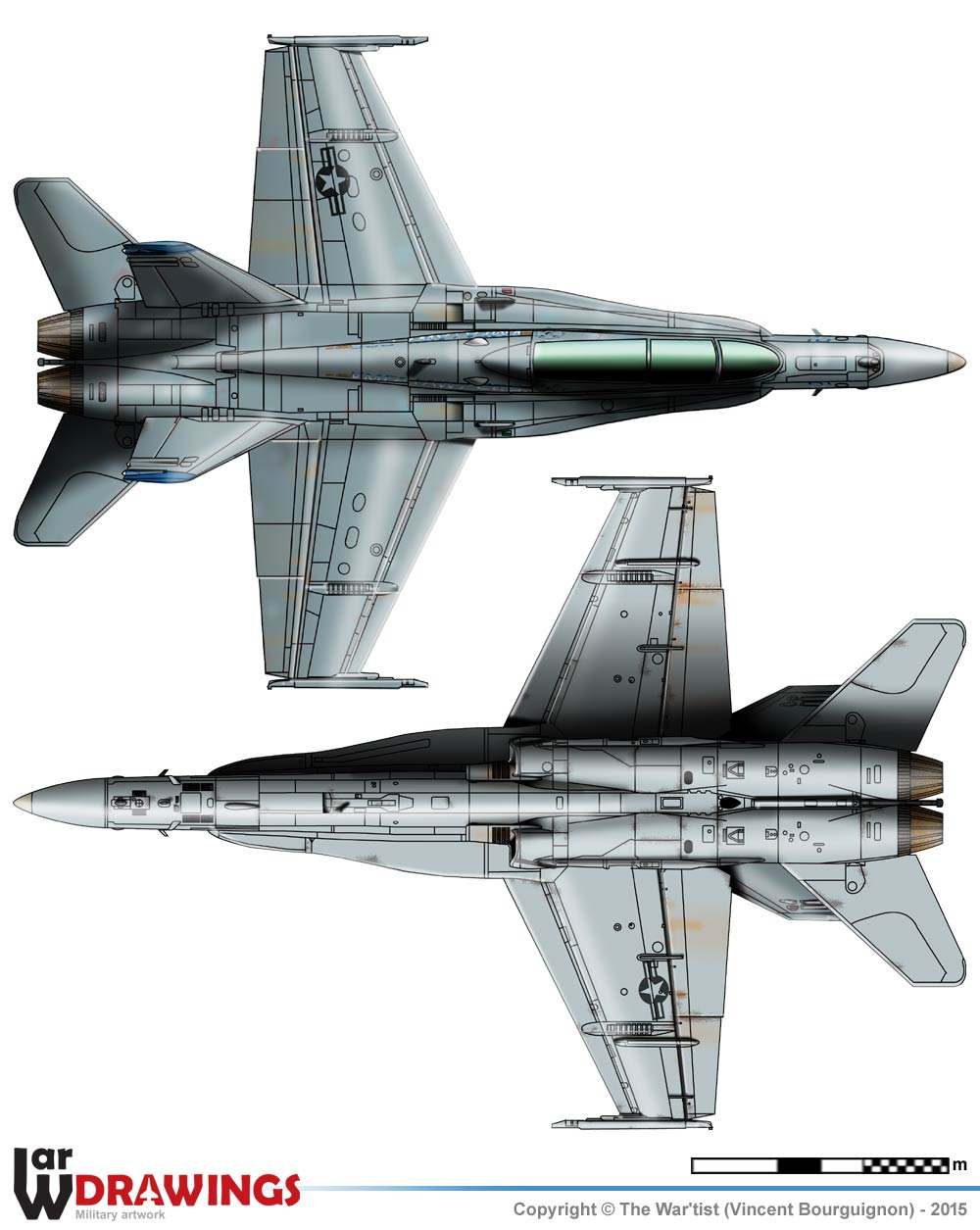 Mc.Donnell Douglas F/A-18D-33-MC Lot. 13 Hornet on