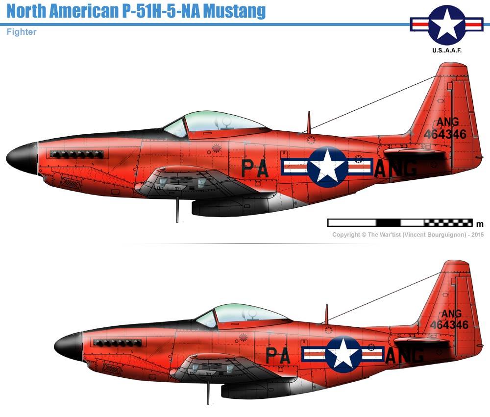 Norh American P 51h 5 Na Mustang