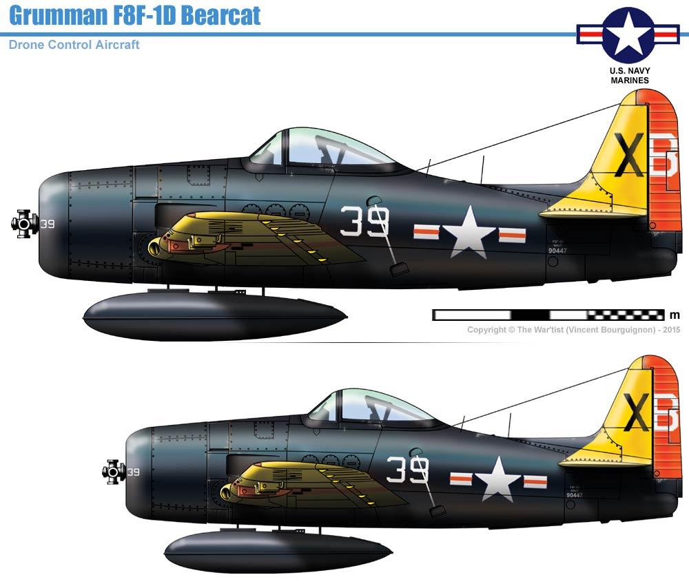 Grumman F8F-1D Bearcat