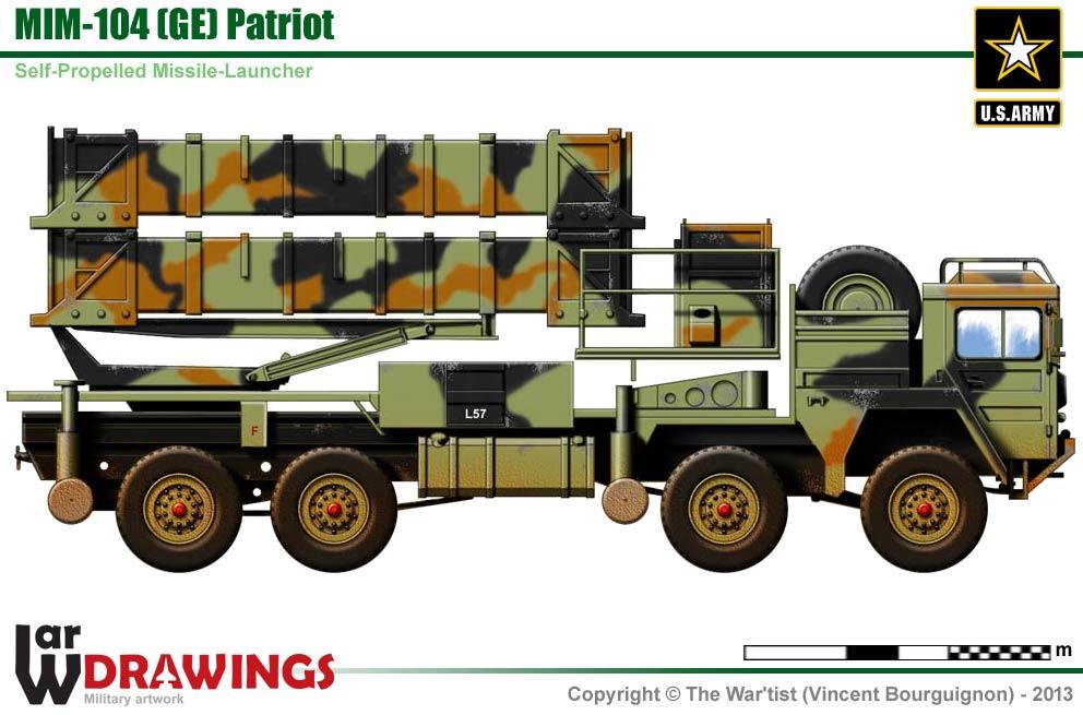 Mim 104 Ge Patriot Air Defence Missile Launcher