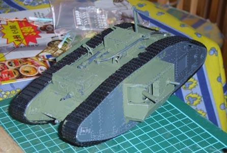Heavy Tank Mark V Hermaphrodite