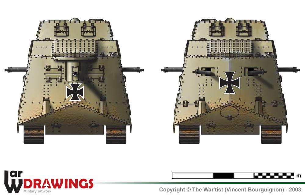 Танки Мира. Коллекция №9 Германский тяжелый танк A7V