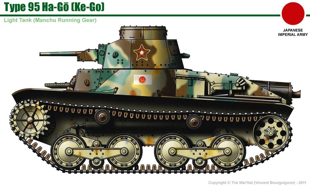 type 95 ha go light tank