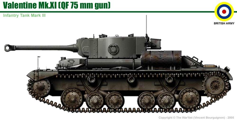 Infantry Tank Mk Iii Valentine Mk Xi