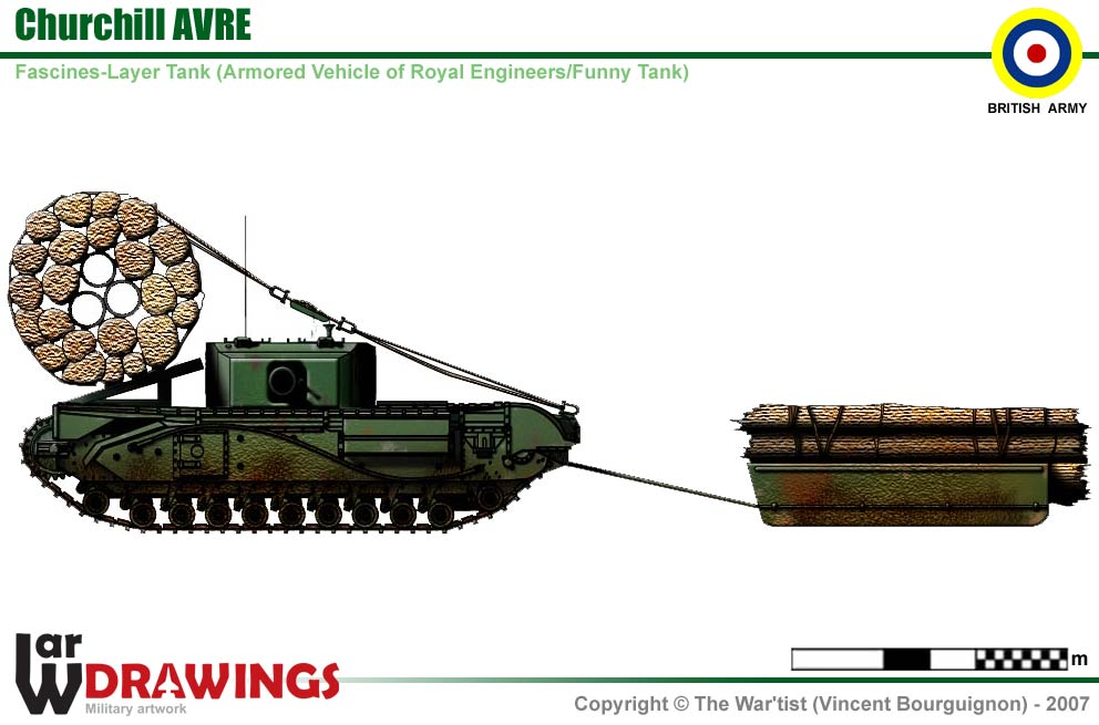 Churchill AVRE Fascines Layer