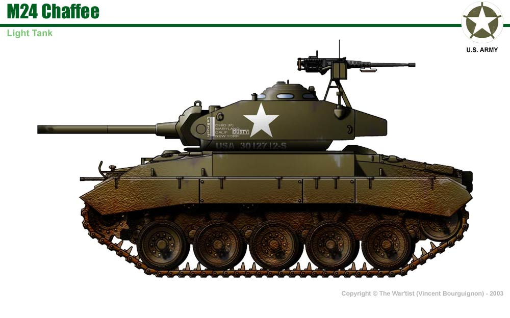 M24 Chaffee M24 Tank