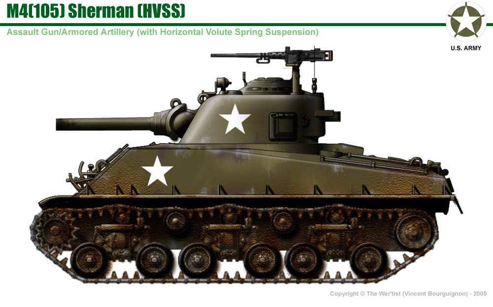 M4 Sherman 105 Bing Images