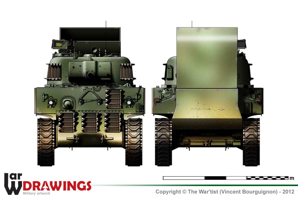 M4A2 Sherman (late production model)