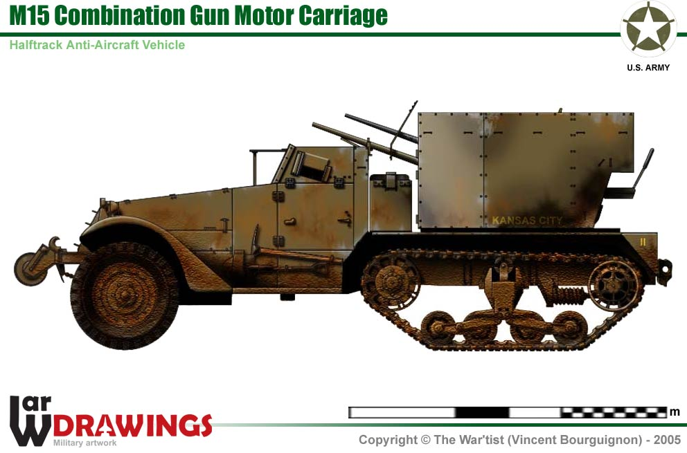 M15 Combination Gun Motor Carriage