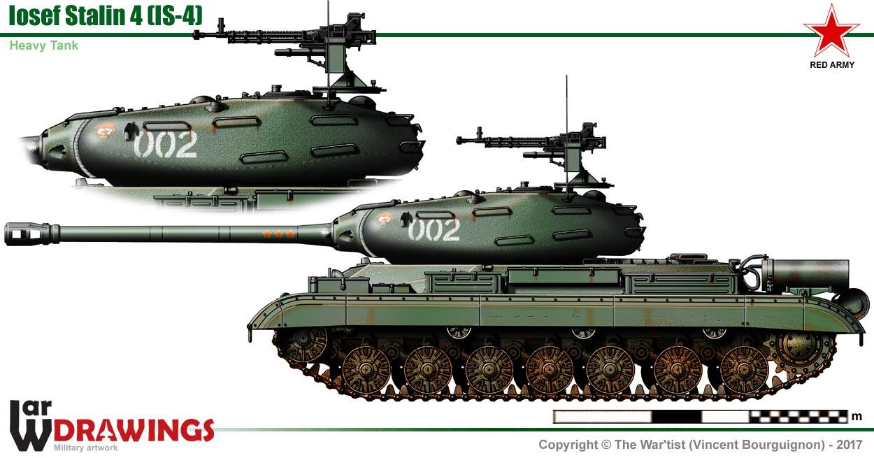 Iosef Stalin Is 4 Heavy Tank