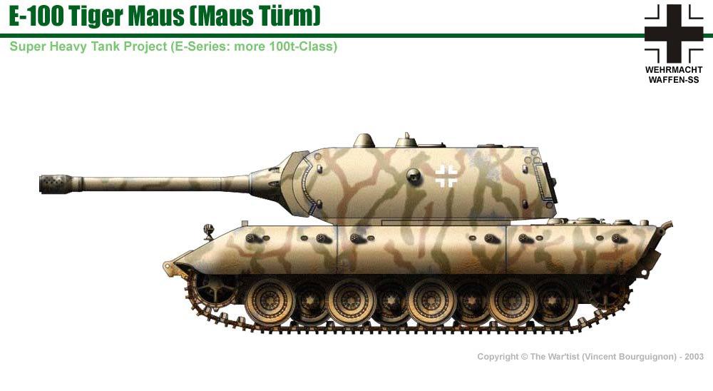 E-100 Tiger-Maus