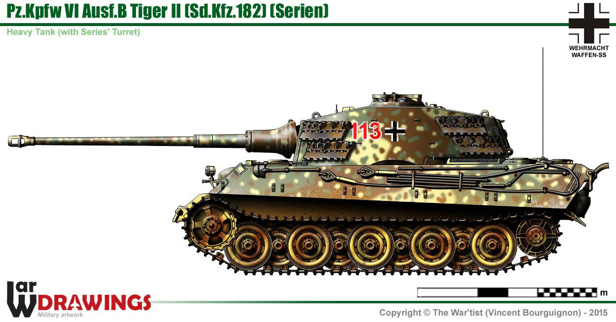 Pin Panzer Tiger Ausf B Documentary German World Of Tanks Official On Share On Tiger2 Tank Petal