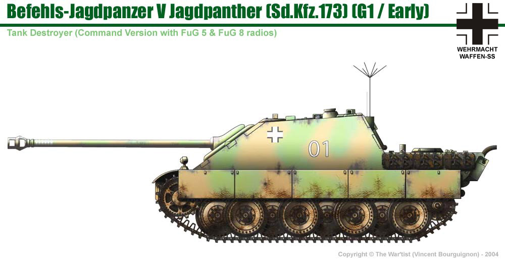 Jagdpanzer V Jagdpanther (early production model)