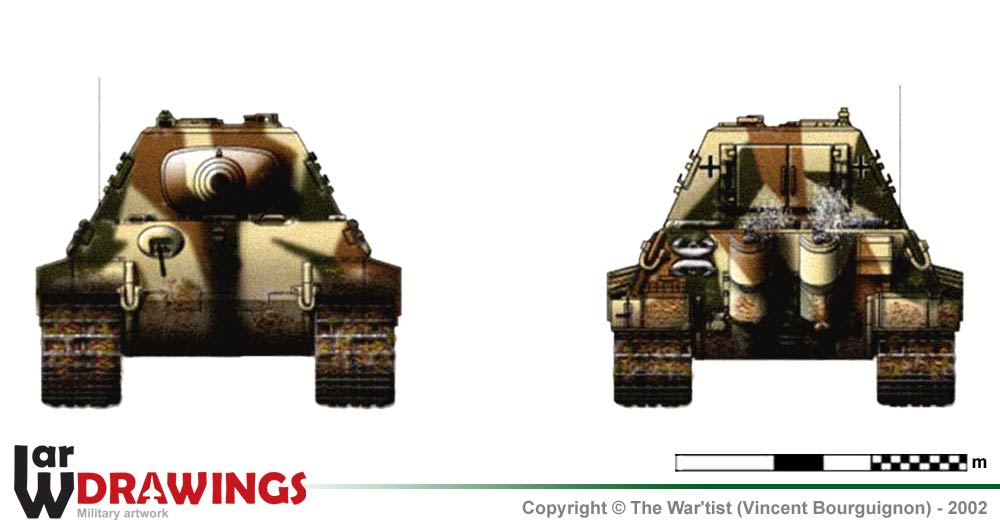 german experimental tank series