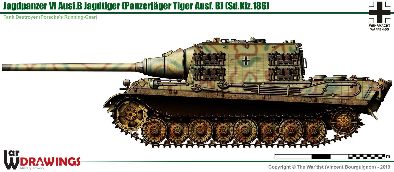 Jagdpanzer Vi Ausf B Jagdtiger  Porsche Experimental