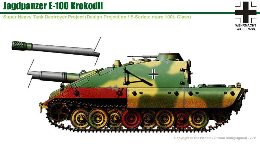 E-100 Crocodile Jagdpanzer