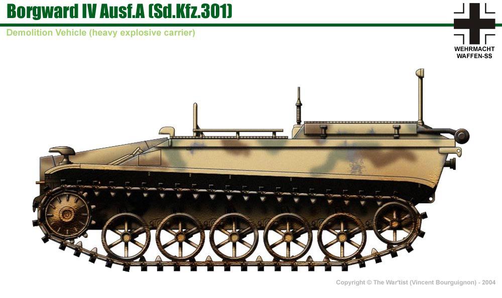 Borgward IV Ausf.A