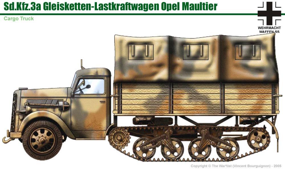 Camion Mercedes Seconda Guerra Mondiale