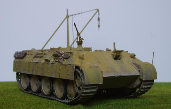 Tracks For Vehicles >> Bergepanther(early)
