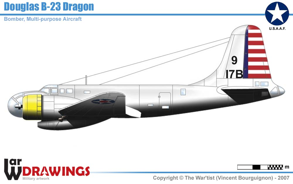 Airplanes/Allies/USA/04-Bombers/B-23(Dragon)/B-23(Dragon).htm | Up ...