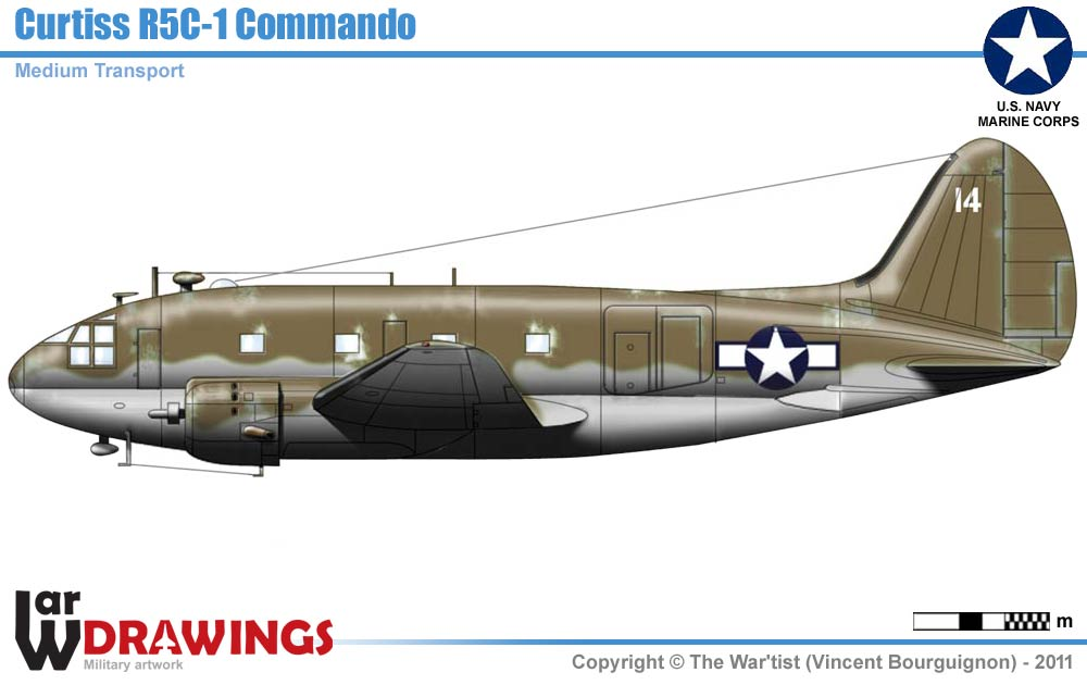 Airplanes/Allies/USA/06-Transport/C-46Commando/R5C-1.htm | Up-dated ...