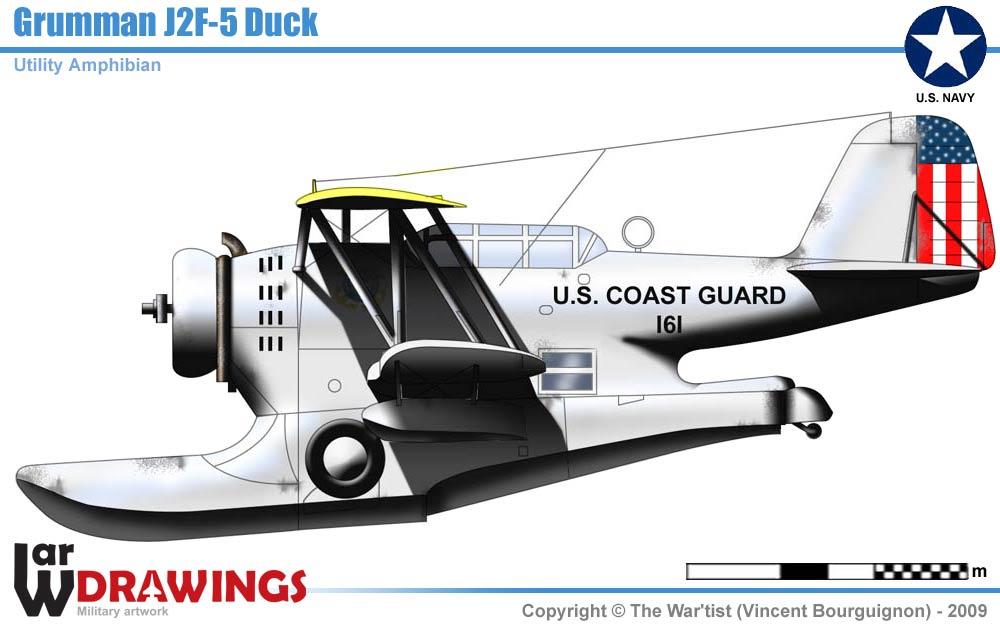 Grumman J2f 5 Duck