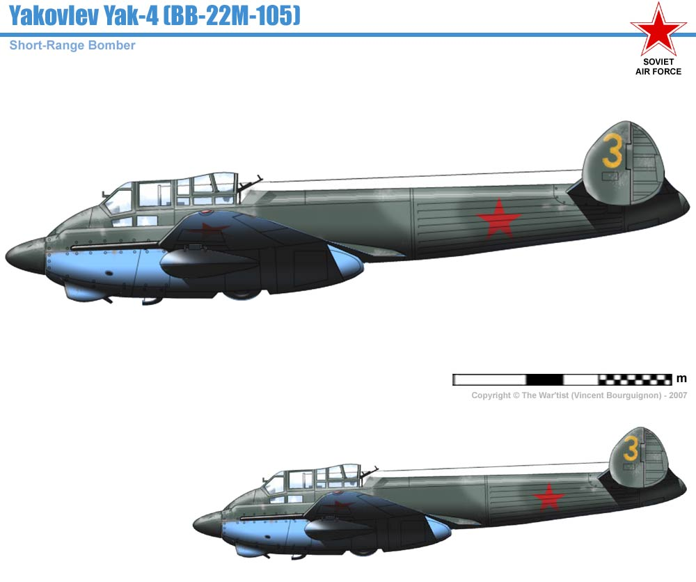 ... 04-Bombers/Yak-2/Yak-4.htm / | Up-dated