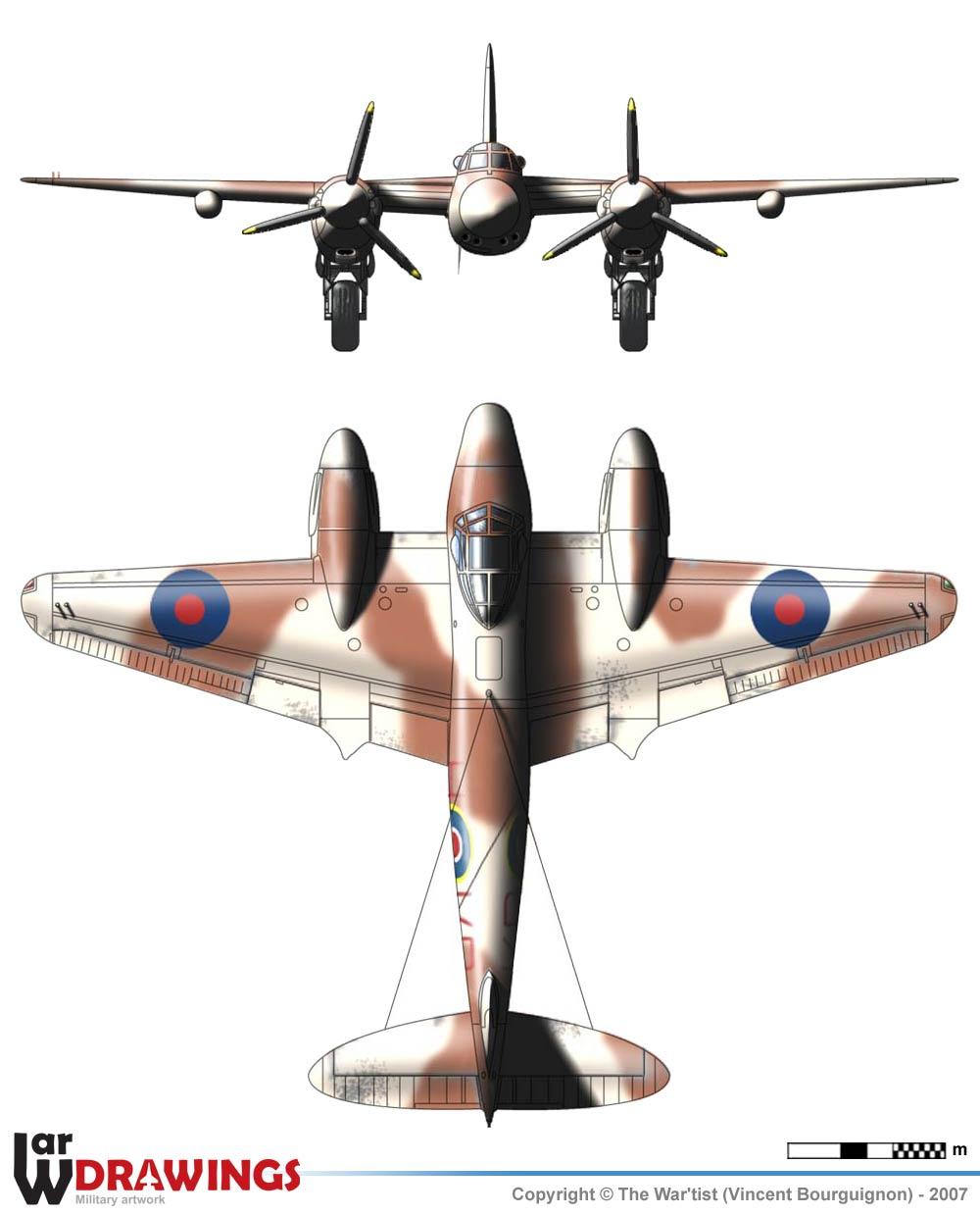 De Havilland Mosquito NF.XIII