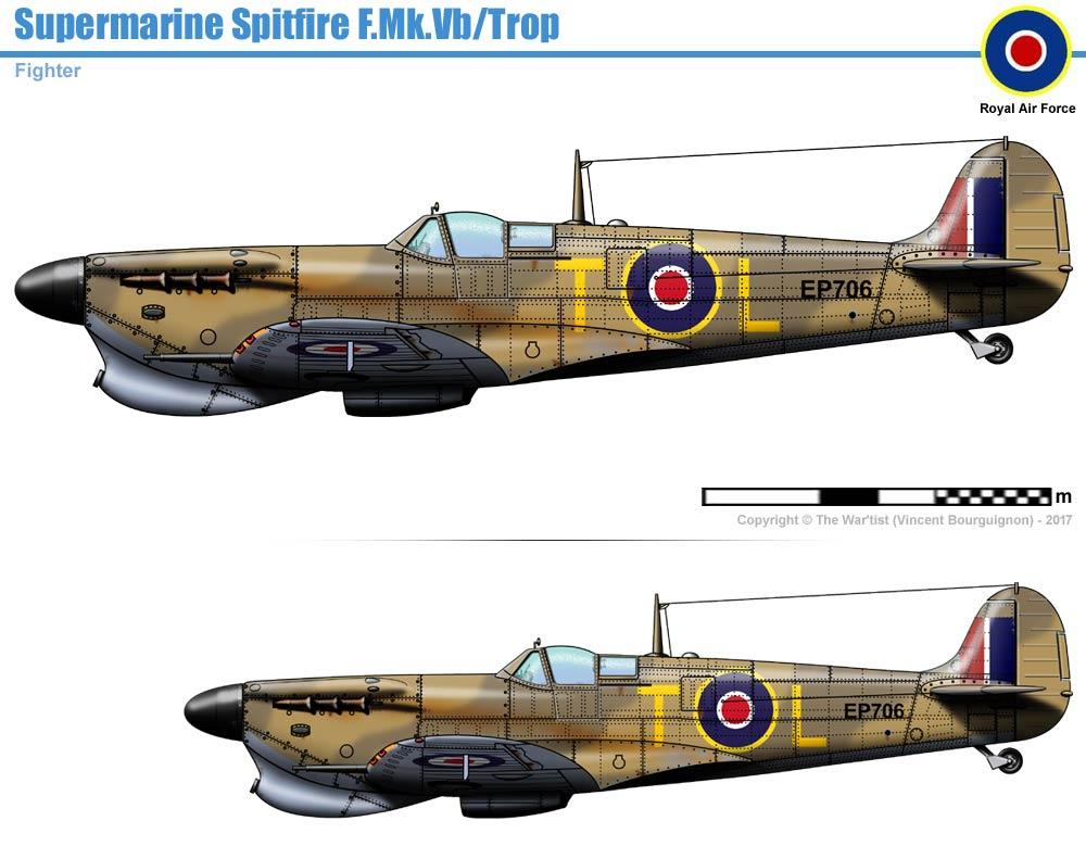 spitfire mk vb trop - photo #6