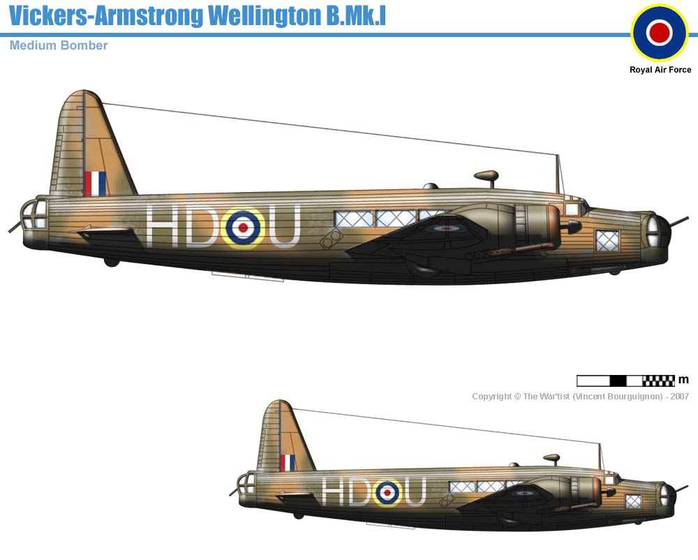 Uk 04 bombers vickers wellington wellington bmk1 htm up dated