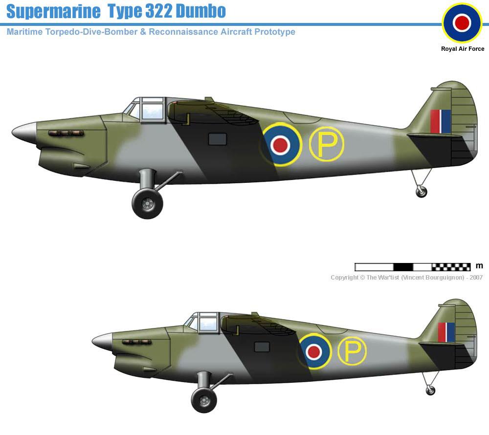 Supermarine Type 322 Dumbo