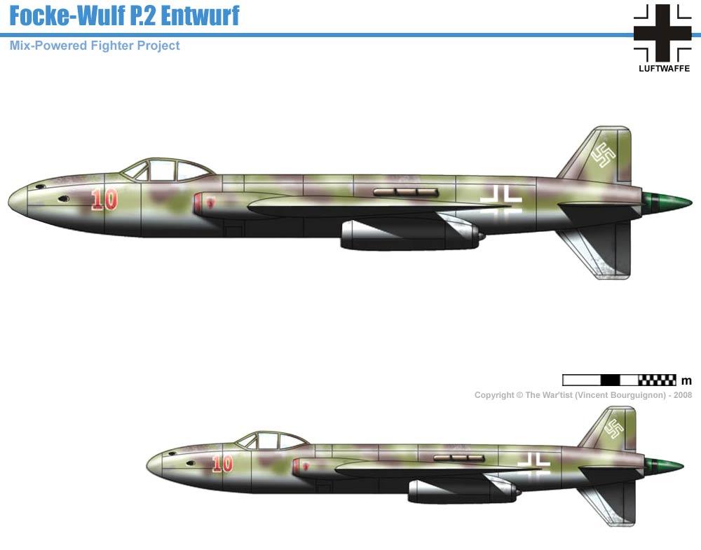 Focke Wulf P Ii Entwurf