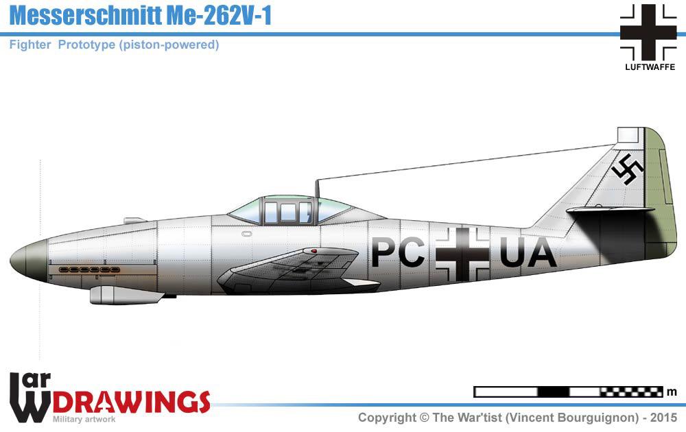 Messerschmitt Me 262v 1