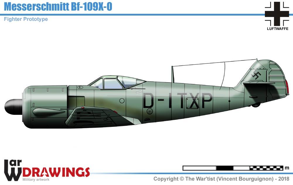 Messerschmitt Bf109x 0