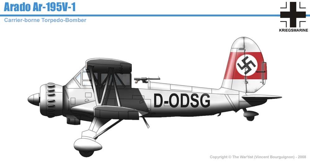 Arado Ar-195 V1