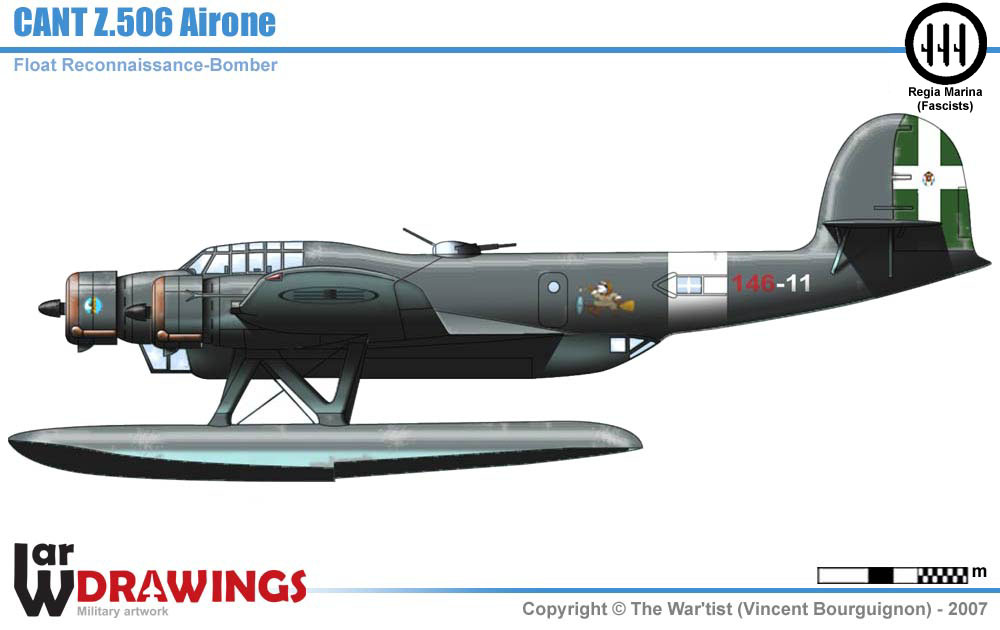 rc planes ww2 with Cant Z506 on Dive Chuuk Lagoon likewise My Favorite Wwii Aircraft The Corsair besides Why Did The Early Versions Of The Me 109 Use A Braced Stabilizer moreover 7 Engine Russian Bomber furthermore LUFTWAFFE 1949 II 88173338.