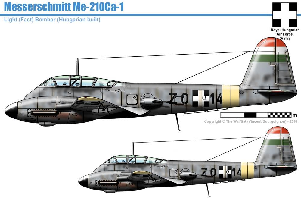 Messerschmitt Me-210Ca-1 Hornisse